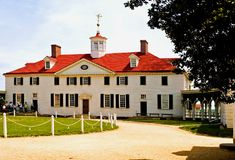 Mt. Vernon, Virginia - 3 Stockfoto