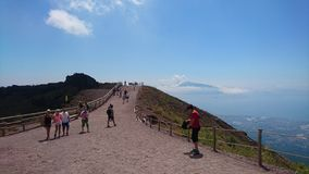 Mt Vesuvio immagini stock