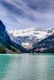 Mt Victoria on Lake Louise, Alberta, Canada Royalty Free Stock Images