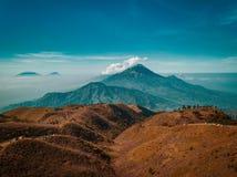 Mt Vista di alba di Prau fotografia stock