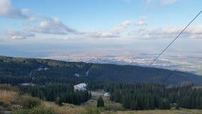 Mt vitosha Sofia. Mountains in Brecon Beacons Stock Image