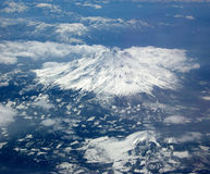Mt Volcan de Shasta Image stock