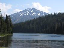 Mt. vrijgezel stock foto's