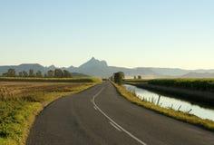 Mt-WARNING, Nord-NSW, Australien Lizenzfreie Stockfotografie