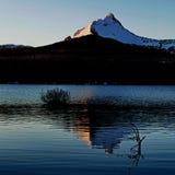 Mt Washington dans le grand lac Photo libre de droits