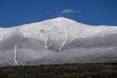 Mt Washington, New Hampshire fotografia de stock