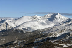 Mt. Weart in the Coast Mountains Royalty Free Stock Photos