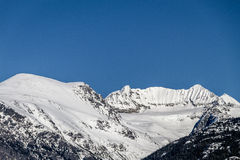 Mt Weart. Is located next to Whistler Blackcomb Mountain in Canada British Columbia Stock Images