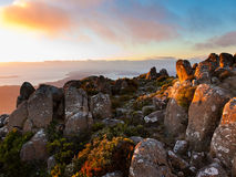 Mt Wellington Stockfoto