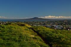 Mt Wellington em Auckland, vista da parte superior, Nova Zelândia imagens de stock royalty free