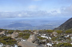 Mt Wellington, Hobart Stockfotos