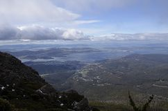 Mt Wellington, Hobart Stockfoto