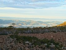 Mt Wellington widok obraz royalty free