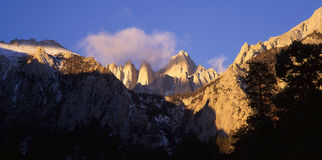 Mt. Whitney Royalty Free Stock Photo