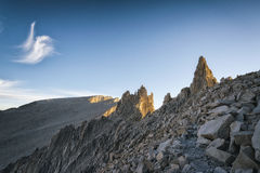 Mt Whitney, Califórnia Imagens de Stock