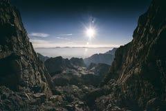 Mt Whitney, Califórnia Imagem de Stock Royalty Free