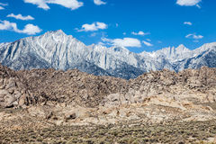 Mt Whitney en Californie Image stock