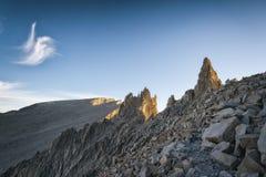 Mt Whitney, Kalifornia Obrazy Stock