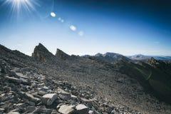 Mt Whitney, Kalifornia Zdjęcia Royalty Free