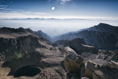 Mt Whitney, la Californie image stock