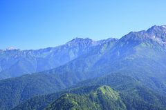 Mt. Yarigatake, Japan Alps Royalty Free Stock Photos