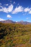Mt. Yatsugatake in autumn Royalty Free Stock Images
