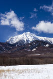 Mt. Yatsugatake in winter Royalty Free Stock Images