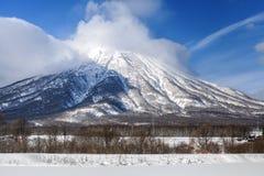 Mt.Yotei Imagen de archivo libre de regalías