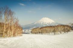 Mt. Yotei (Fuji de Hokkaido) Imagen de archivo libre de regalías