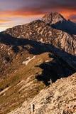 Mt Yushan fotografia stock