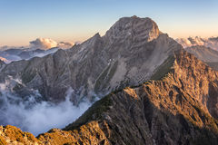 Mt Yushan Royalty Free Stock Photography