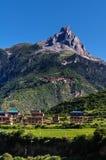 Mt Zaga en verano Imagen de archivo libre de regalías