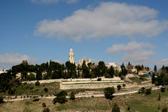 Mt Zion,Jerusalem Stock Photos