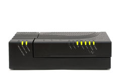 MTA cable modem. Cable Modem - MTA - Internet and voice in only one equipment royalty free stock photo
