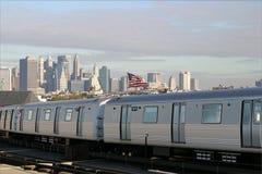 MTA do trem Imagem de Stock Royalty Free