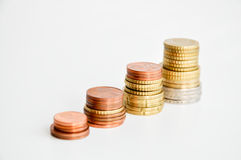 Mäta pengartillväxt Royaltyfri Bild
