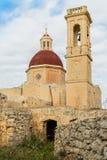 Mtahleb离开的村庄在马耳他 库存照片