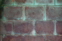 Métal de cuivre rouillé Image stock