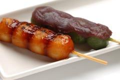 MTARASHI DANGO-dumpling Stock Images