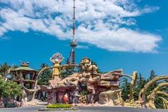 Mtatsminda park Tbilisi Gruzja Fotografia Royalty Free