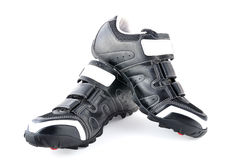 Mtb boots royalty free stock photos
