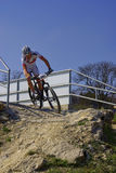MTB Bundesliga emballant 2011, Muensingen, Allemagne Photo libre de droits