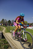 MTB Bundesliga racing 2011, Muensingen, Germany Stock Photo