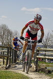 MTB Bundesliga racing 2011, Muensingen, Germany Stock Photography