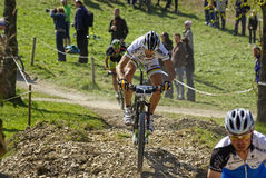 MTB Bundesliga racing 2011, Muensingen, Germany Royalty Free Stock Photo