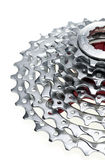 MTB Chainrings Stock Photo