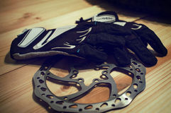 MTB cycling accessories Stock Photography