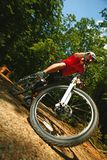 Mtb dirt biking Stock Images