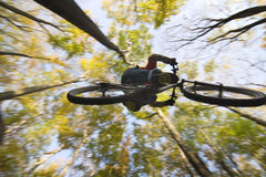 Mtb Dirt Jump stock photography