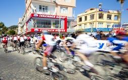 MTB Laufen. Manavgat Antalya die Türkei Lizenzfreie Stockbilder